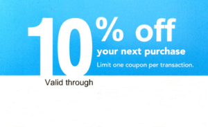 10 coupon lowes
