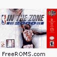 NBA In the Zone 2000 Screen Shot 5