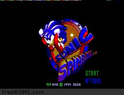 Sonic Spinball Screen Shot 1