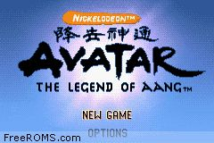 Avatar - The Legend Of Aang Screen Shot 1