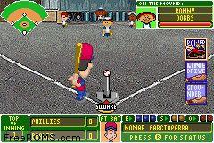 backyard baseball screen shot 2