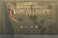 Download Baldur S Gate Dark Alliance Gameboy Advance Roms