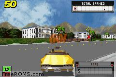Crazy Taxi - Catch A Ride ROM Download for Gameboy Advance