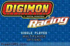 Digimon Racing Screen Shot 1