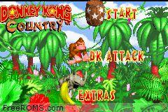 Donkey Kong Country Screen Shot 1