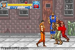 Final Fight One ROM Download for Gameboy Advance