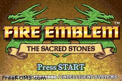 Fire Emblem - The Sacred Stones Screen Shot 1