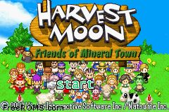Harvest Moon - Friends Of Mineral Town ROM Download for