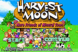 Harvest Moon - More Friends Of Mineral Town Screen Shot 1