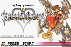 Kingdom Hearts - Chain Of Memories Screen Shot 1