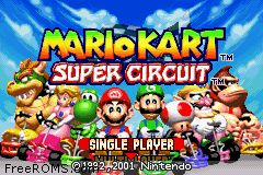 Mario Kart - Super Circuit Screen Shot 1