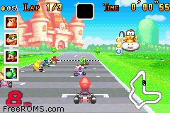Mario Kart - Super Circuit Screen Shot 2