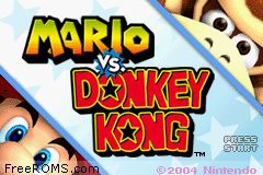 Mario VS. Donkey Kong Screen Shot 1