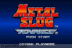 Metal Slug Advance Screen Shot 1