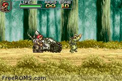 Metal Slug Advance Screen Shot 2