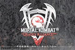 Mortal Kombat - Deadly Alliance ROM Download for Gameboy Advance