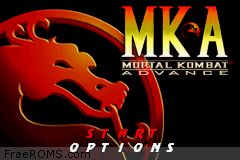 Mortal Kombat Advance Screen Shot 1