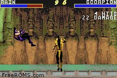 Mortal Kombat Advance Screen Shot 2
