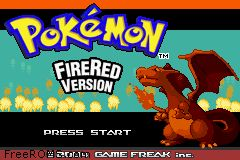 Pokemon - Fire Red Version Screen Shot 1