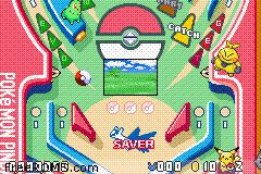 Pokemon Pinball - Ruby And Sapphire Screen Shot 2