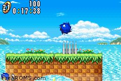 Sonic Advance Screen Shot 2