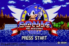 Sonic The Hedgehog - Genesis ROM Download for Gameboy Advance
