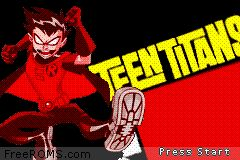 Teen Titans Screen Shot 1