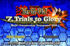 Yu-Gi-Oh! - 7 Trials To Glory - World Championship Tournament 2005 Screen Shot 1