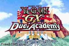 Yu-gi-oh! Gx duel academy rom gameboy advance (gba)   emulator.