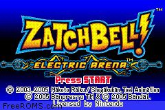 Zatchbell! - Electric Arena Screen Shot 1