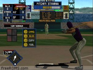 All Star Baseball 2001 Screen Shot 2