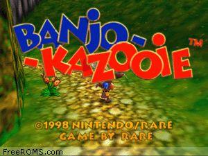 Banjo-Kazooie Screen Shot 1