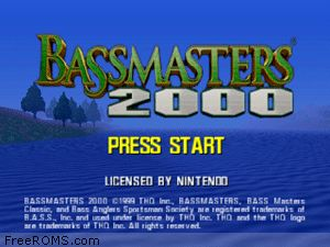 Bassmasters 2000 Screen Shot 1