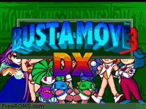 Bust-A-Move 3 DX Screen Shot 1