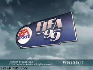 FIFA '99 Screen Shot 1