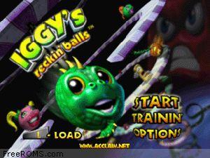 Iggy's Reckin' Balls Screen Shot 1