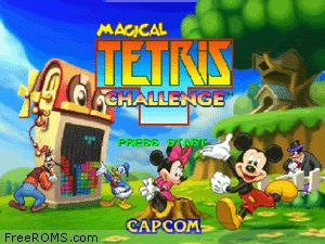 Magical Tetris Challenge Screen Shot 1