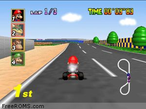 Mario Kart 64 Screen Shot 2