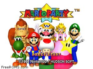 Mario Party Screen Shot 1