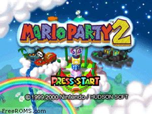 Mario Party 2 Screen Shot 1