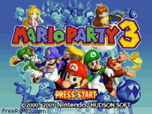 Mario Party 3 Screen Shot 1
