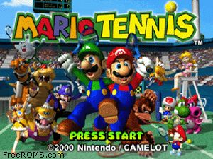Mario Tennis Screen Shot 1