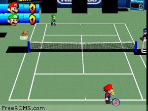 Mario Tennis Screen Shot 2