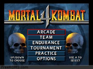 Mortal Kombat 4 Screen Shot 1