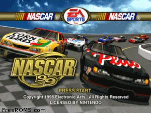 Nascar 99 Screen Shot 1