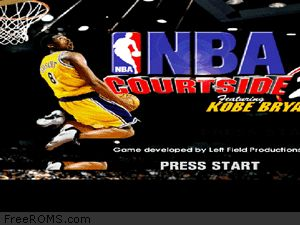 NBA Courtside 2 - Featuring Kobe Bryant Screen Shot 1