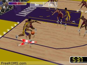 NBA Courtside 2 - Featuring Kobe Bryant Screen Shot 2