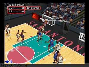 NBA In the Zone 2000 Screen Shot 2
