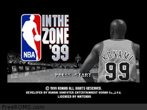 ALTERATIVE DOWNLOAD LINK: NBA In the Zone '99