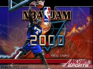 NBA Jam 2000 Screen Shot 1